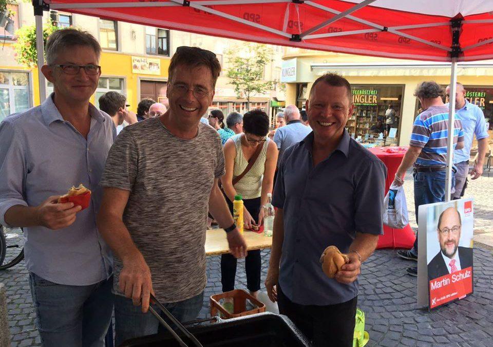 Wahlkampfauftakt mit Dr. Carsten Kühl, Kurt Beck & Michael Hartmann