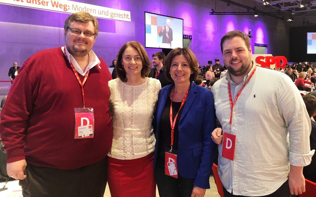 Malu Dreyer wird stellvertretende Parteivorsitzende