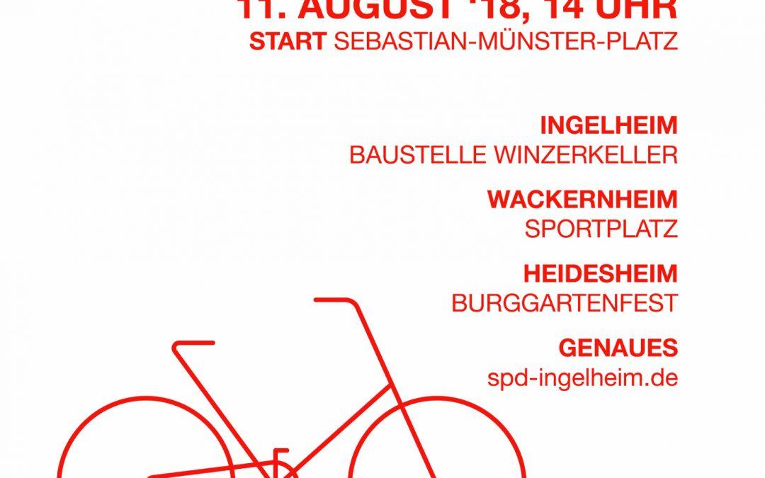 SPD steigt auf's Rad