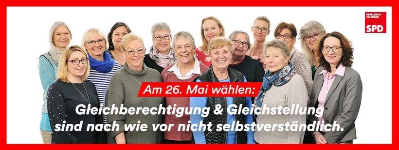 SPD-Infostand zum Weltfrauentag